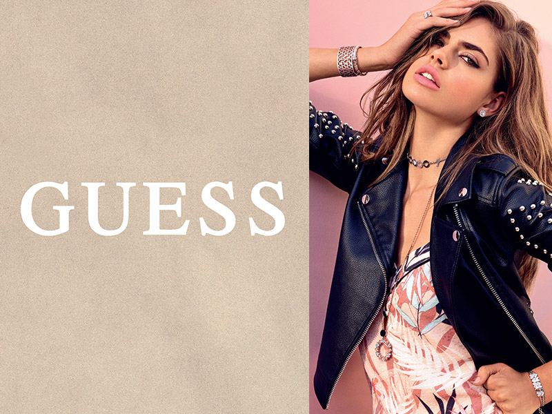 "<span style=""color: #fff"">GUESS<br> JEWELLERY</span>"