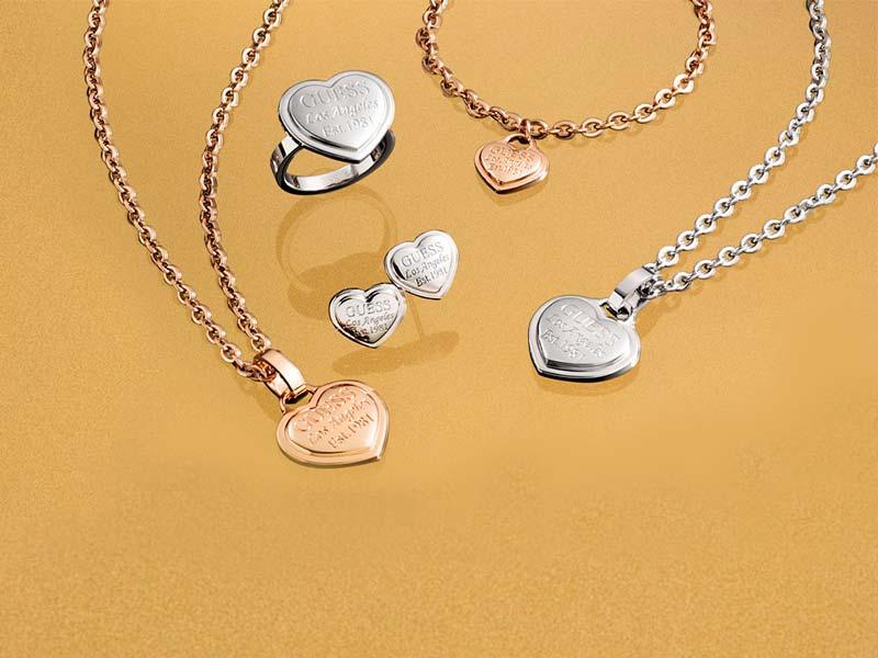 Nova kolekcija <br> GUESS JEWELLERY <br> FOLLOW MY HEART