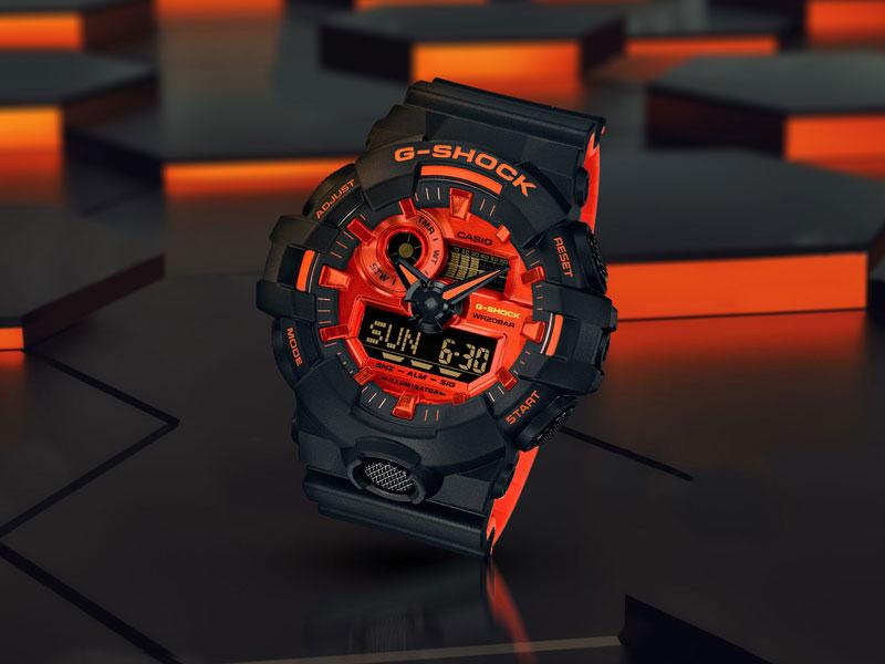 "<span style=""color:#fff"">G-SHOCK<br>Bright Orange kolekcija"