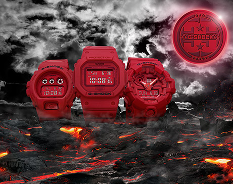 35th Anniversary G-SHOCK Red-Out kolekcija