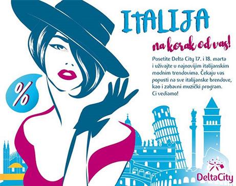 DANI ITALIJE U DELTA CITY-u