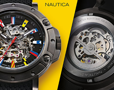 NAUTICA  PORTHOLE 25th ANNIVERSARY LIMITED MODEL  NAPPRH011